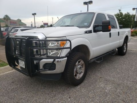 Pre-Owned 2015 Ford F-250SD XLT Crew Cab 4x4